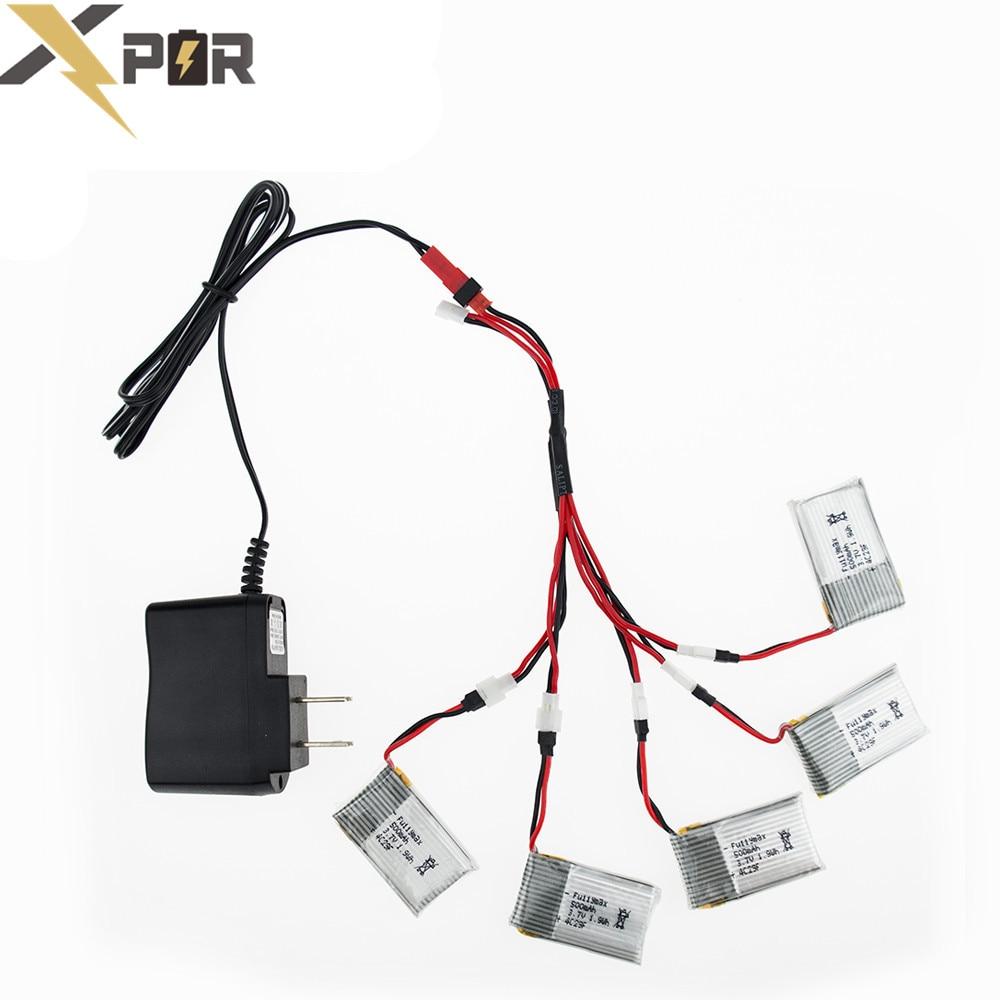 online get cheap 3 7v 500mah lipo battery aliexpress com 5pcs syma x5 rc drone 3 7v lipo battery 500mah cha