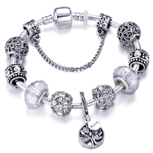 Новое поступление, очаровательный браслет для женщин, натуральные украшения, Женский Pan браслет& браслет, серебряное золото, ювелирное изделие, цепь в виде змеи, подарок