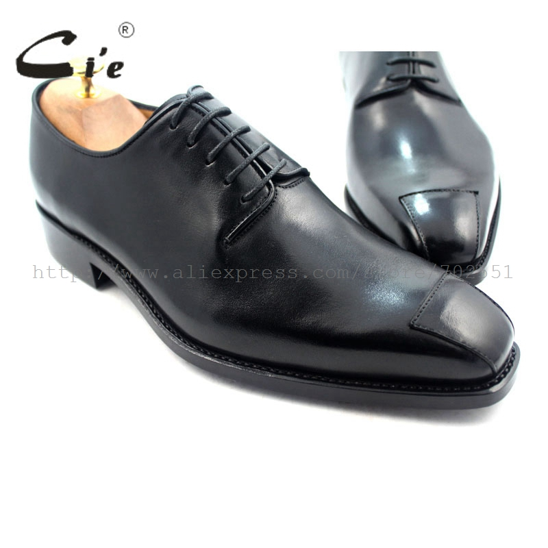 cie Free shipping Goodyear welted custom handmade pure genuine calf leather outsole men's dress/classic derby black shoe No.D59 полироль пластика goodyear атлантическая свежесть матовый аэрозоль 400 мл