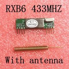 RXB6 433 МГц сверхгетеродинный беспроводной модуль приемника 1 шт. с антенной