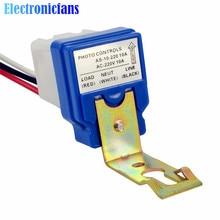 Автоматический переключатель уличного света для автоматического включения и выключения, Датчик управления фото, переключатели переменного тока 220 В 10 А