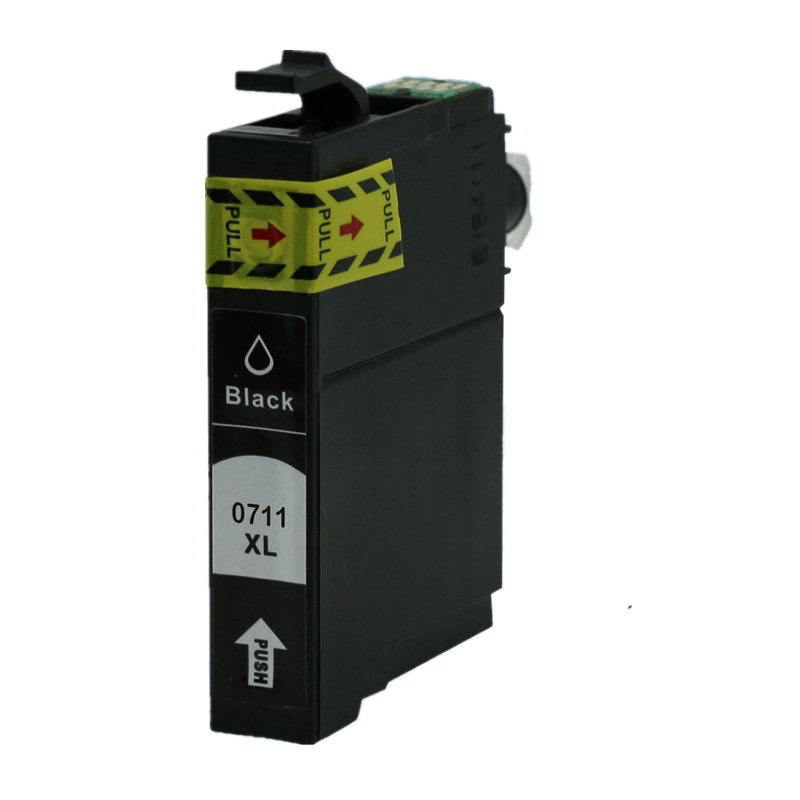 Replacement T0711 T0711/891 E-711/891 E-711 Ink Cartridges For Stylus Office B40W <font><b>BX300F</b></font> BX300FW BX310FN image