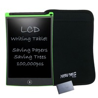 NEWYES 8 5 Green Graphics Tablets Drawing Pen Mini Board With Stylus LCD Tablet For Writing