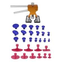 PDR Tools Paintless Dent Repair Tools Dent Removal Dent Puller Tabs Dent Lifter Hand Tool Set Toolkit Ferramentas Hand Tools