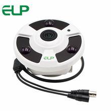 720P 1/4″CMOS NVP2431+0141 AHD cam 360 Degree full View Camera 3pcs Array LED night vision Fisheye AHD Camera with 1.56mm Lens