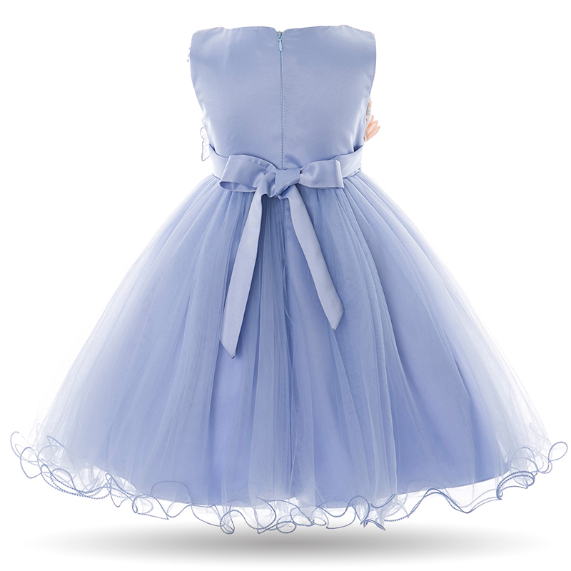 092c03704ce Cielarko Kids Girls Flower Dress Baby Girl Butterfly Birthday Party Dresses  Children Fancy Princess Ball Gown Wedding Clothes-in Dresses from Mother    Kids ...