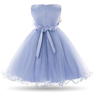 Image 2 - Cielarko Kids Girls Flower Dress Baby Girl Butterfly Birthday Party Dresses Children Princess Fancy Ball Gown Wedding Clothes