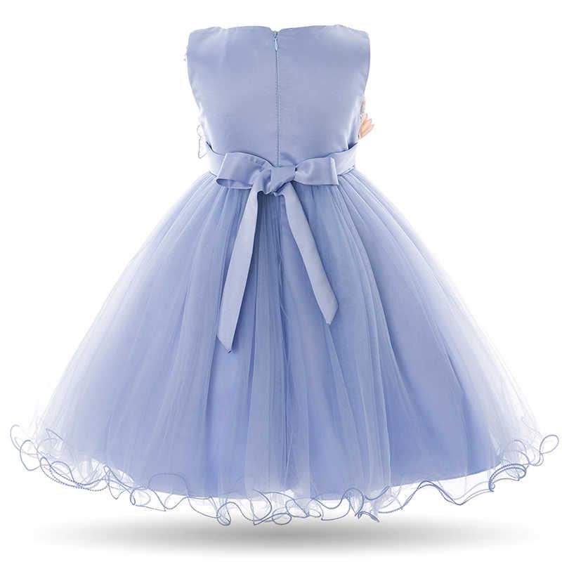 a6fca371b647ca8 ... Cielarko/Детские Платье с цветочным рисунком для девочек для маленьких  девочек без рукавов бабочка Платья ...