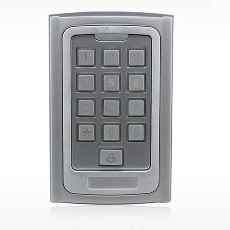 500 User Metal ID Card Day/Night Password Door Access Control