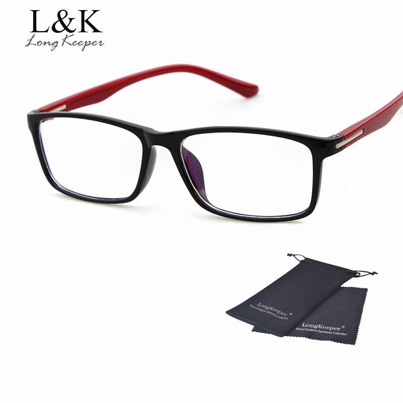 Long keeper cool eyewares женщины мужчины очки кадр оптического кадр óculos де грау работы оправу оптовая цена