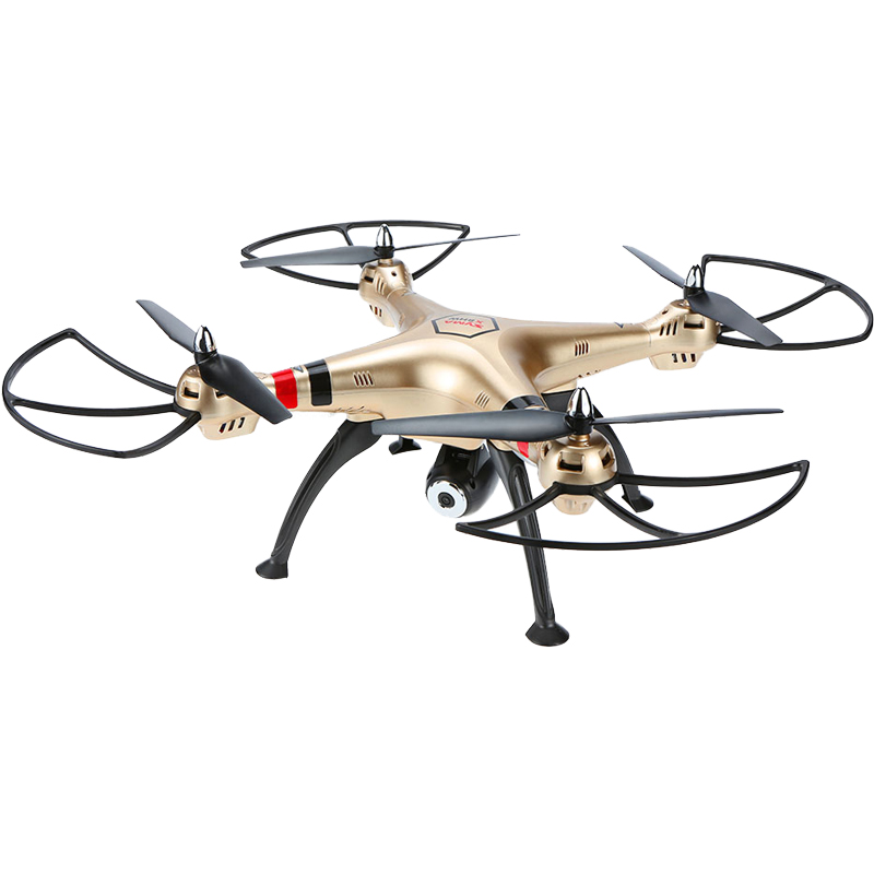 Headless Mode 2.0MP HD Camera Professional Syma X8HC Drone 2.4G 4CH 6-Axis Gyro RC Quadcopter Racing Drone Toys for Boys syma x5sw 4ch 2 4ghz 6 axis rc quadcopter with hd camera hovering headless mode rc drone 1200mah battery prop 4pcs motor 2pcs