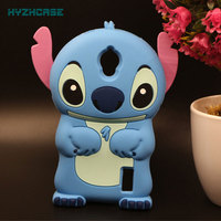 Phone Case For Huawei Ascend Y635 Y625 Cute 3D Cartoon Stitch Soft Silicon Rubber Shape Back Protective Phone Cover