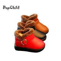 HOT SALE Winter Children Snow Boots Warm Girls Shoes High Quality PU Children Boots Baby Boys