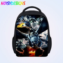 School Bags Backpack Student Satchel Teenager Boys Girls Travel Bags Large Capacity How to train your dragon School Backpacks
