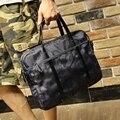 Camuflagem Cor Multifunções Ocasional Maleta À Prova D' Água Oxford Viagem dos homens Crossbody Ombro Messenger Bag Bolsa Para Homens