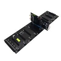 HOT BTC HM65 добыча доска DDR3 памяти M.2 SSD SATA RJ45 сети Поддержка HDMI HD Выход плата Поддержка 8 PCIE изображения