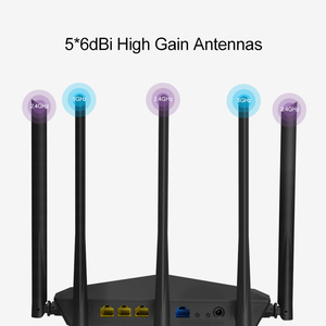 Image 3 - Tenda AC7 Wireless WiFi Router AC1200 Dual Band Home Coverage Wi Fi Repeater/Client+AP/WISP, support APP Management, Easy Setup
