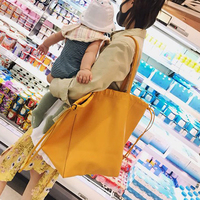Large Capacity Real Leather Shopping Bag Big Size Female Handbag Tote 2018 New Sac A Main Crossbody Bags For Women
