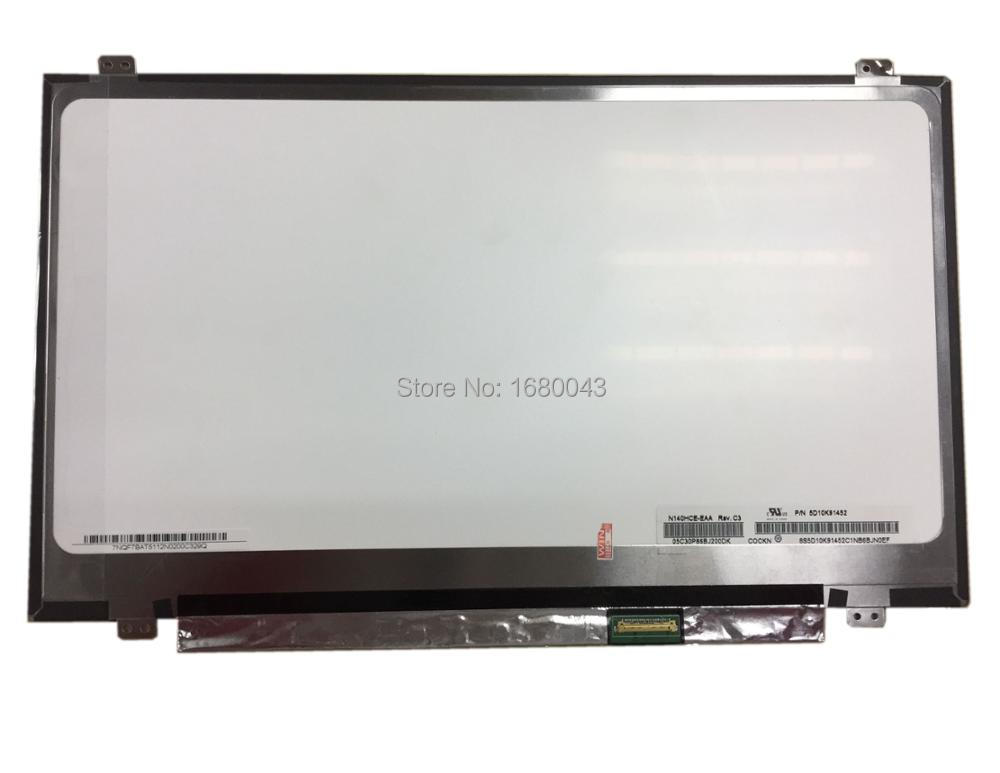 CMO N140HCE-EAA LCD Screen Replacement for Laptop New LED Full HD Matte