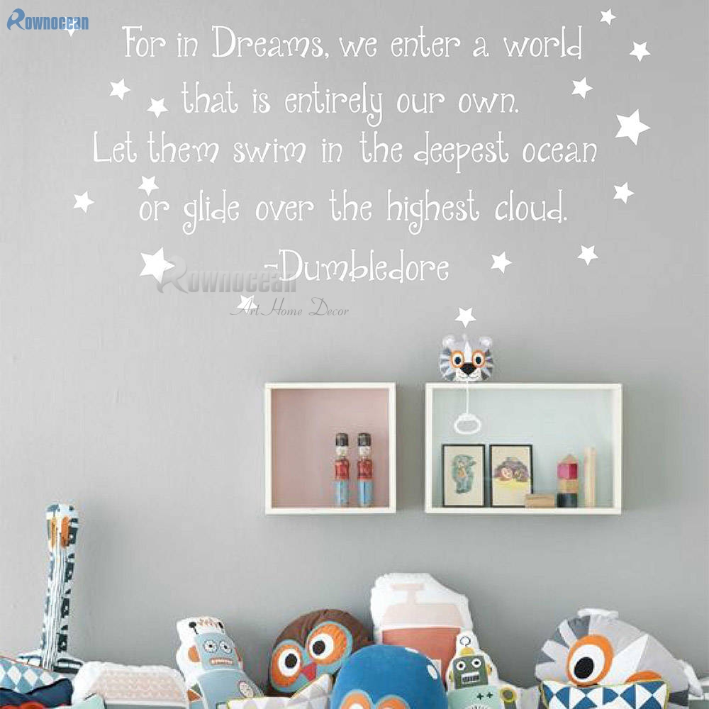 22 COLOURS FILM HARRY POTTER FOR IN DREAMS WALL ART STICKER.2  SIZES