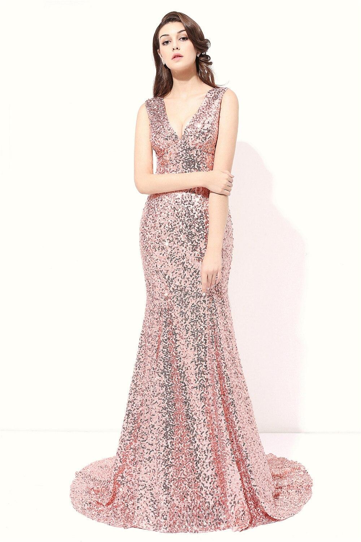 Venta caliente barato Vestidos de noche 2016 largo vestidos de dama ...