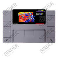 Megaman 7 (Mega Mann VII) 16 bit Super Spiel Karte Für 46 Pin Spiel-Player