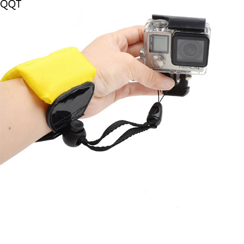 QQT Floating Foam Hand Wrist Diving Strap Belt For GoPro Hero7 6 5 4 3 For Xiaomi Yi For SJCAM For SOOCOO Sports Action Camera