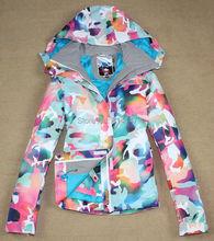 free shipping new arrivals women's ski jacket Colorful women's snowboard jacket windproof waterproof ski wears