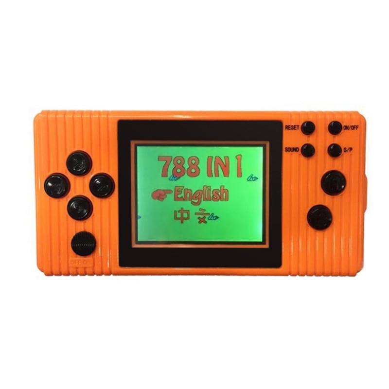 Portable Spielkonsolen GüNstig Einkaufen Handheld Spielkonsole 3,0 farbe Bildschirm Kinder Video Spiel Konsole Eingebaute 788 Spiel Handheld Gamepad Tetris Puzzle Spiel Videospiele