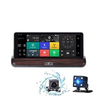 3G Android 5 0Car GPS Navigation 7 Inch Bluetooth Navigators Automobile With DVR FHD 1080 Vehicle