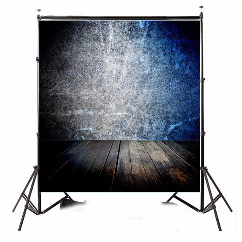 8x8ft Vinyl Wall Blue Cement Wall Floor Photography Background For Studio Photo Props Photographic Backdrops cloth 2.4x2.4m умный браслет rover rovermate fin 01 carbon gpb07659