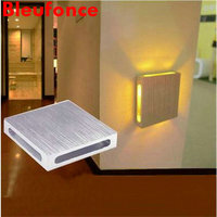 3W LED Wall Lamp Background Wall Lights Led Bedside Lamp Bar KTV Decorative Light Simple Idea