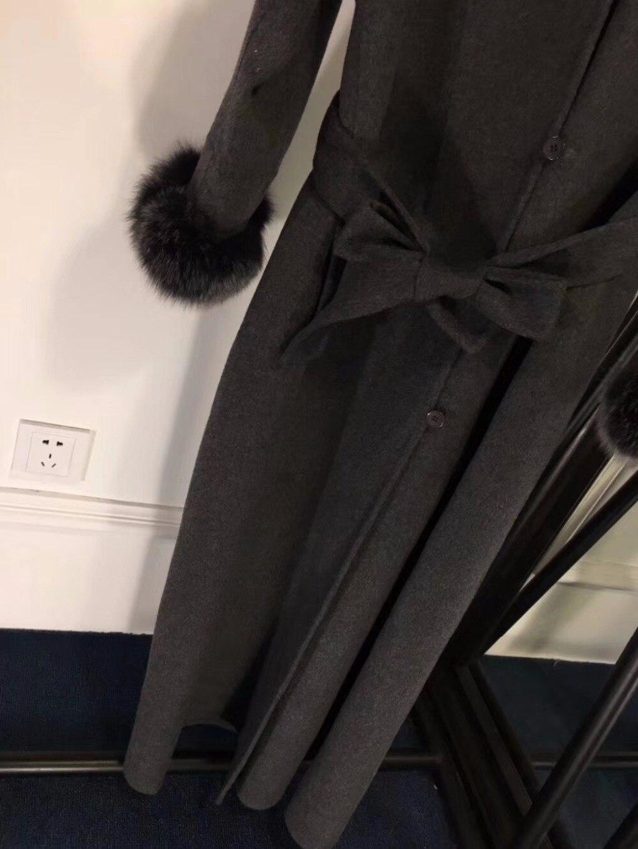 Long Avec Vadim Cachemire Double Casual Personnalité Vêtements Capuche Femmes Lâche Abrigos Manteau De Mode D'hiver Face x4qTOz