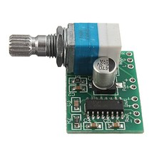 Electronic Circuit Board PAM8403 5V 2 Channel Power Audio Amplifier Board 3Wx2 Volume Control USB Power