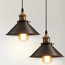Wholesale Vintage Industrial Lighting Copper Lamp Holder Pendant Light American Aisle Lights Lamp Edison Bulb 110V-220V