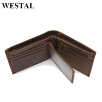 Promotion Casual Wallets For Men New Design Genuine Leather Purse Men Wallet Short Style Real Leather