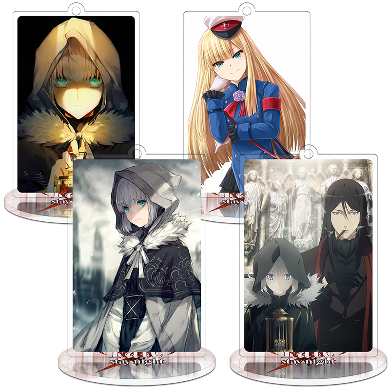 Anime Lord El-Melloi II Case Files Reines·El-Melloi·Archisorte Atrum Galliasta Acrylic Keyring Pendant Bag Phone Pendant Gifts