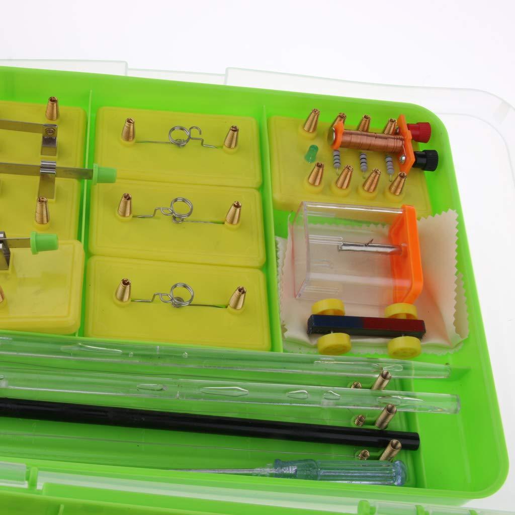 Kit de tige de Circuit électrique matériel de laboratoire d'expérimentation de physique équipement éducatif d'apprentissage de Science d'électro-tisme - 5