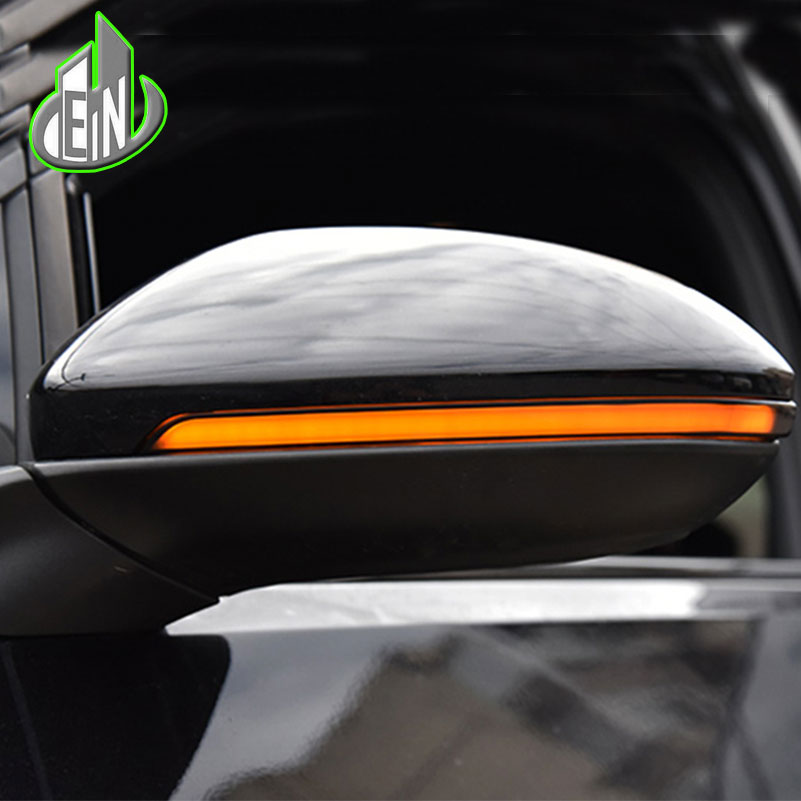 Car Styling For VW Golf 7 7.5 rear view mirror turning lamp rear view mirror lamp + dynamic steering lamp
