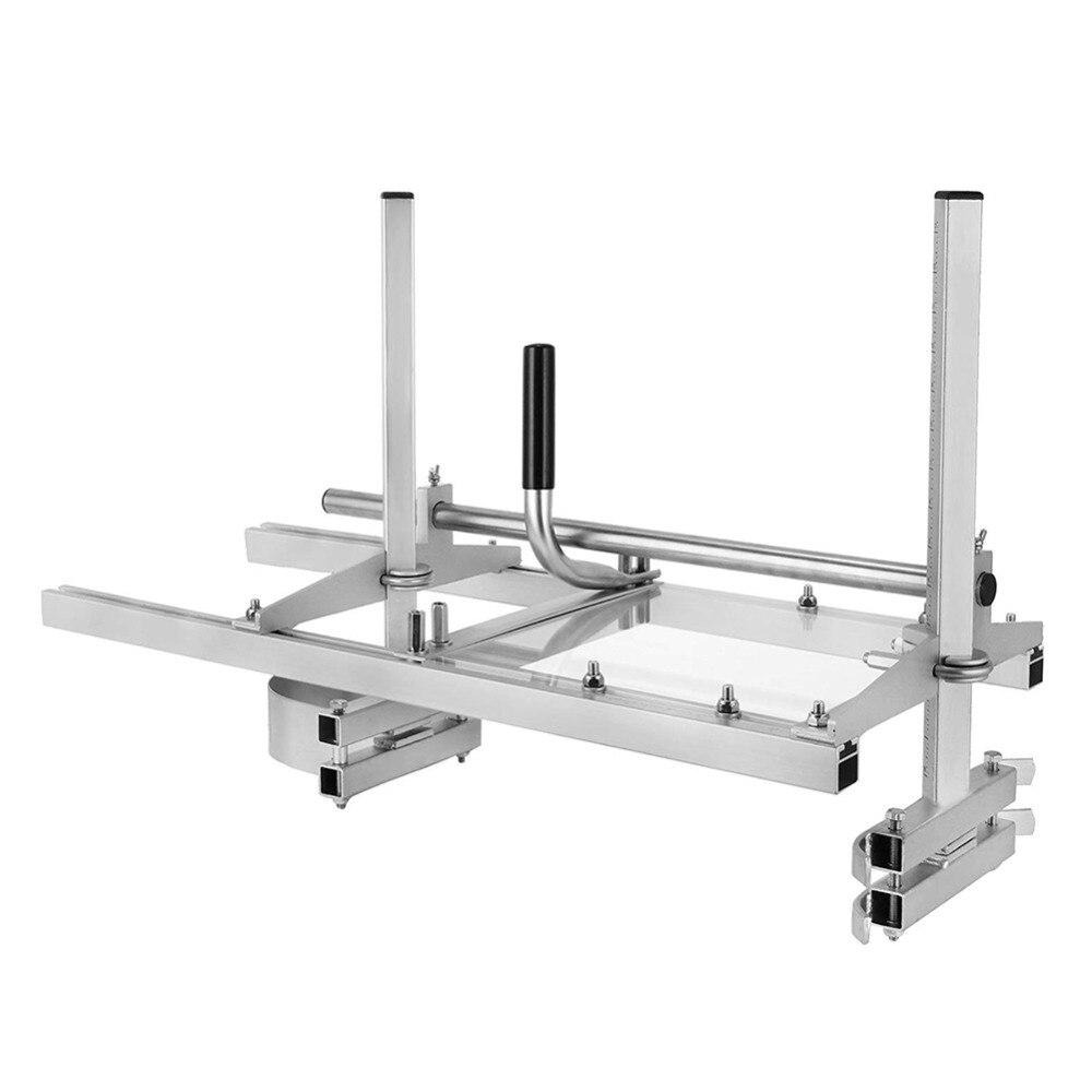 Портативная мельница для бензопилы с 24 ''до 48'', аксессуары для лесопилок, Направляющая штанга, инструмент для резки, регулируемая высота