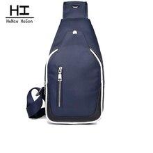 Daher HoSon männer Reise Weekend Bag Nylon Crossbody Taschen für Männer Schultertasche Crossbody Taschen für Männer Freies Verschiffen Z0657