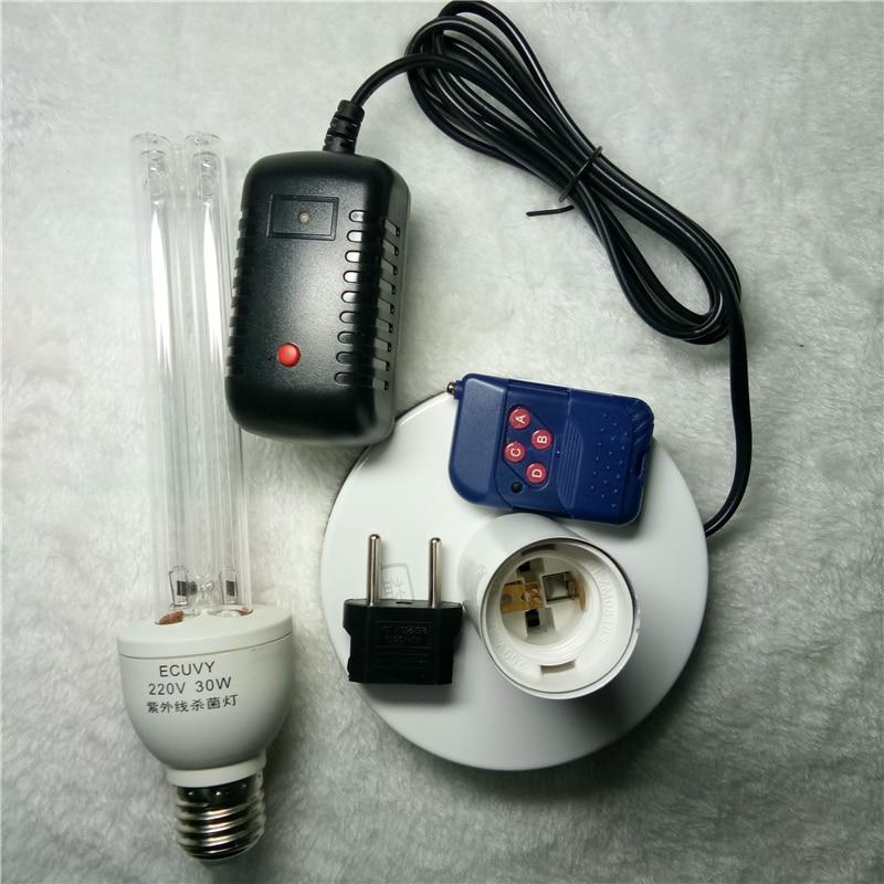 Superb A Set UV Quartz Disinfection Ozone Sterilizer Lamp Home Hospital Kill Mite  Sterilization Ultraviolet Solarium Remote Cleaner Kit In Ultraviolet Lamps  From ...