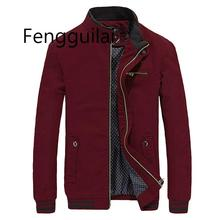 2019 Brand New Spring Autumn Thin coat Men Casual Jacket Coat Fashion Washed 100% Pure Cotton Brand-Clothing Jackets Male Co