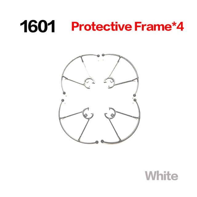 Free shipping Propeller Blade for 1601 1601HW Mini Foldable RC Drone Quadcopter Pocket Helicopter Protective frame spare part