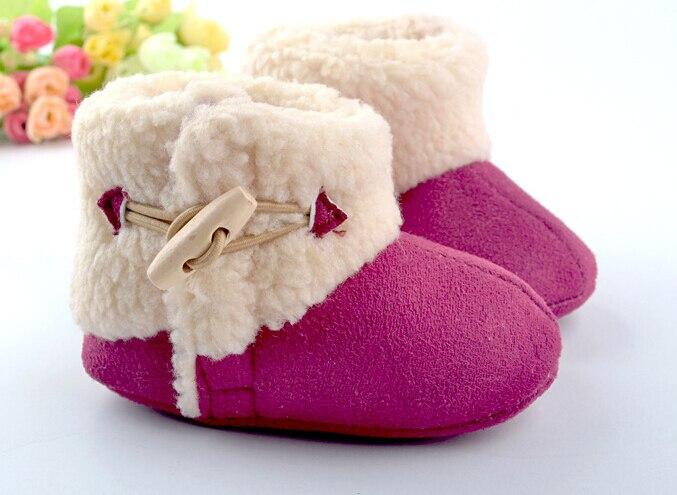 terbaru sol karet xmas bayi boots xmas busana musim dingin sepatu keras tunggal bebe salju sangat hangat dan penjualan panas banyak model di