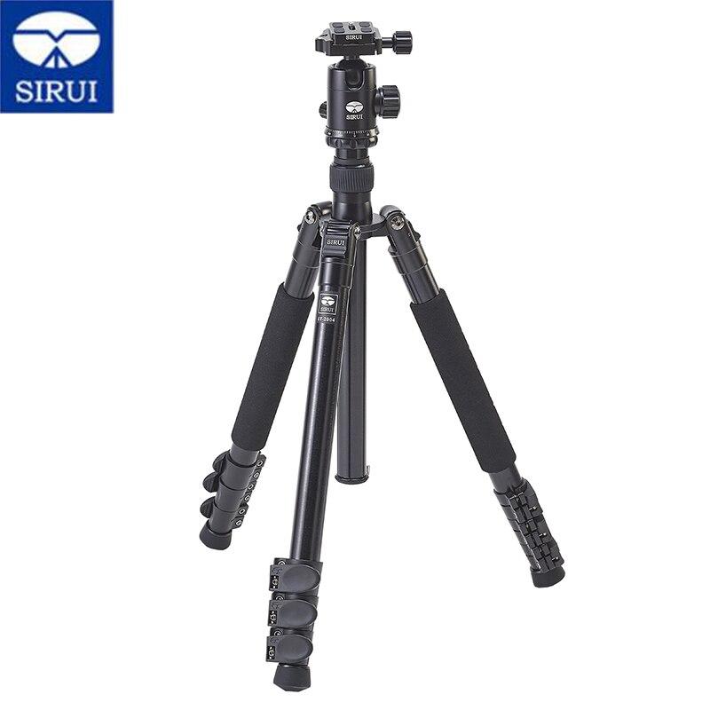 SIRUI ET2004 K20X Professional Tripod Kit Aluminum Reflexed Tripod Stable Tripod Video Head Quality Photography Set For Camera