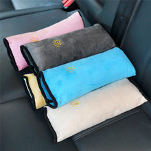 Baby car seat Soft Headrest Seat Belt Shoulder Pad Cover Kids Children Shoulder Padding Vehicle Seatbelt Cover pillows Car Psrts(China)
