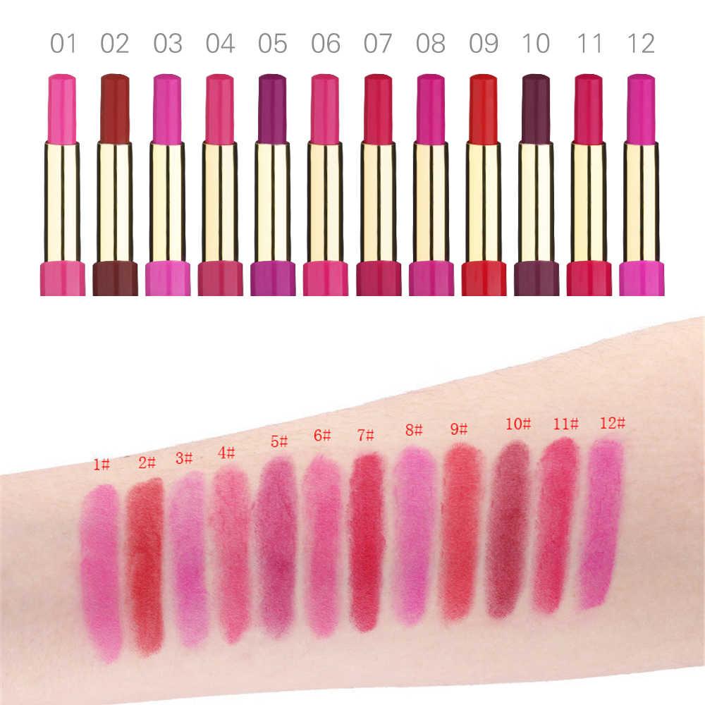 2 в 1 помада + подводка для губ двойная губная помада для макияжа яркая матовая увлажняющая водостойкая губная помада карандаш для макияжа