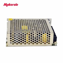 DC output triple output AC to DC net-50d 50w 5V 24V 12V enclosed switching power supply 3A 1A 1A 50pcs g6m 1a 24v 4