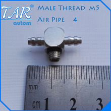 50 Pieces Spot sales SMC Miniature barb fitting the T-4-M5 6-M5-through gas nozzle M-5ATHU-4